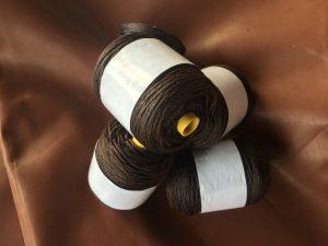 Waxed thread Dark Brown 100 m