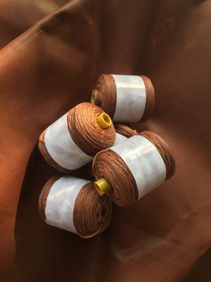Waxed thread Light Brown 100 m