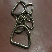 D-Ring 32mm  AB welded